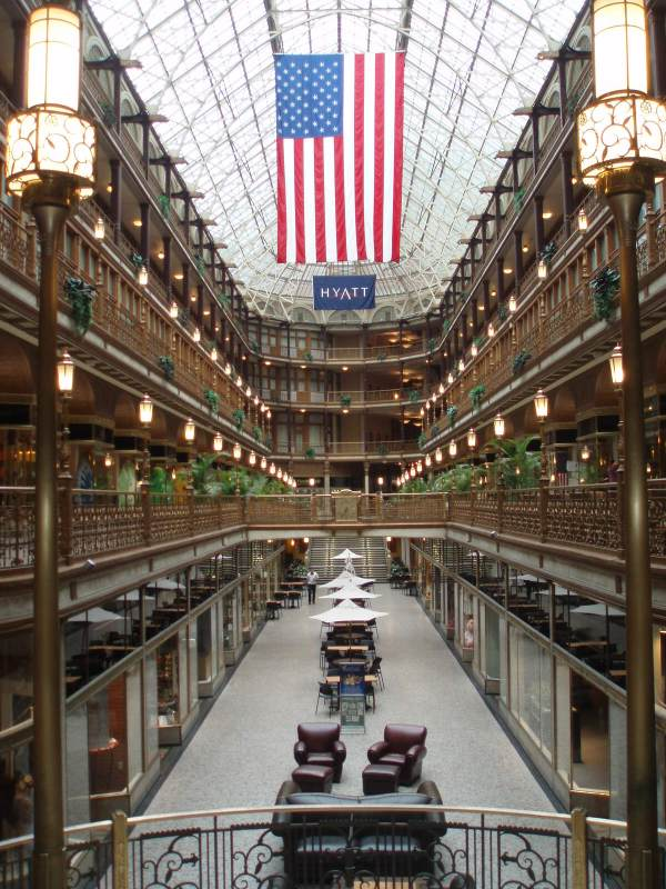 Cleveland Arcade Traveling With Jared