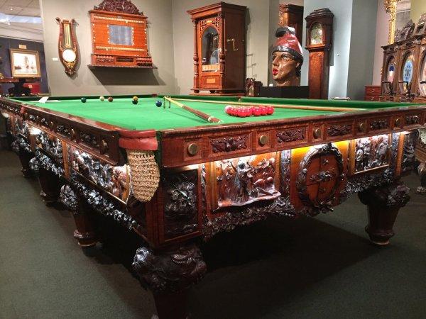 The History of Australia Billiard Table at M.S. Rau Antiques