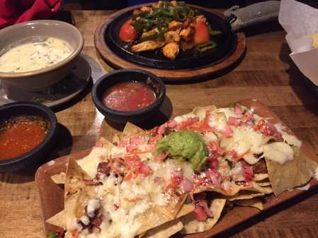 Nachos at Mi Casa Mexican Restaurant in Breckenridge.