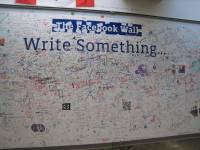The Facebook Wall | Traveling with Sweeney