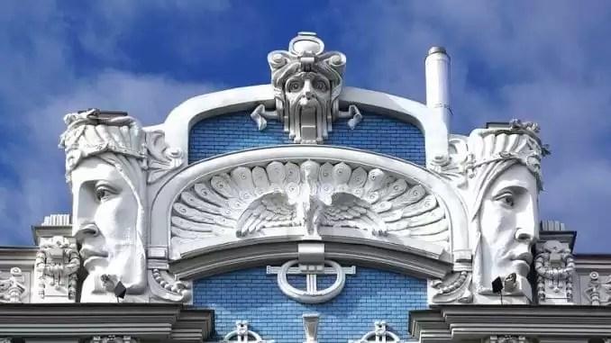 Art Nouveau Architecture e1548205391993 - Latvia Travel - Latvia Travel And Vacation Guide