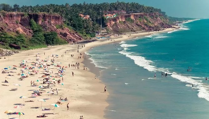 VARKALA Tourist Places In Kerala 669x381 - Top 10 Tourist Places In Kerala To Visit During Summer