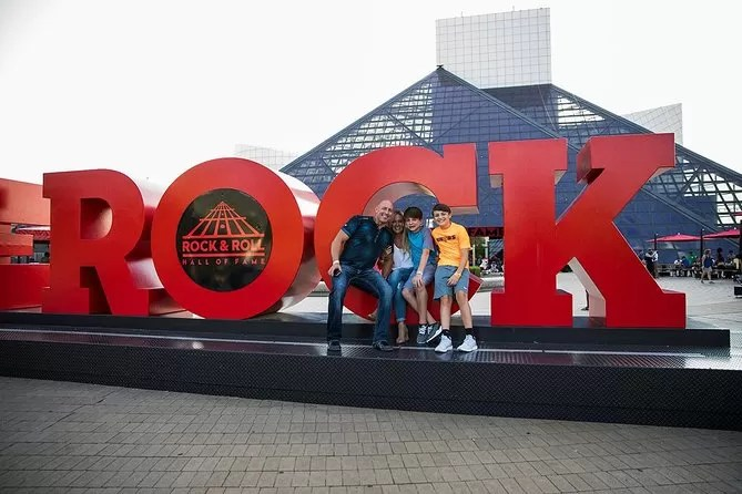 Rock and Roll Hall of Fame Admission in Cleveland - Travel Through The Eyes Of Children