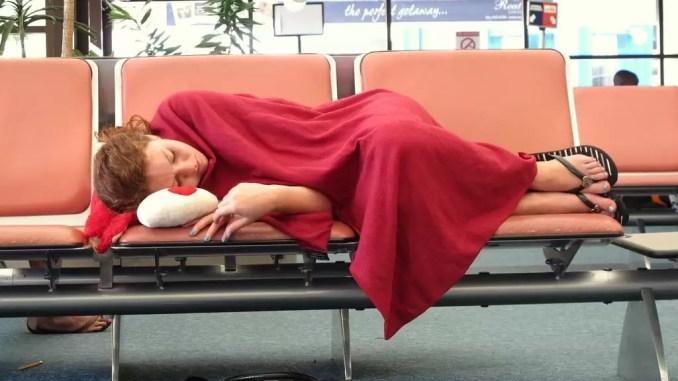 Have A Nap 678x381 - Airport Tips For International Travel