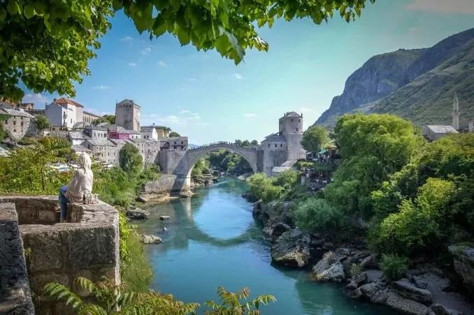 Stari mostar Bridge 1 e1561273275977 - Mostar, Bosnia-Herzegovina-The Little Paradise