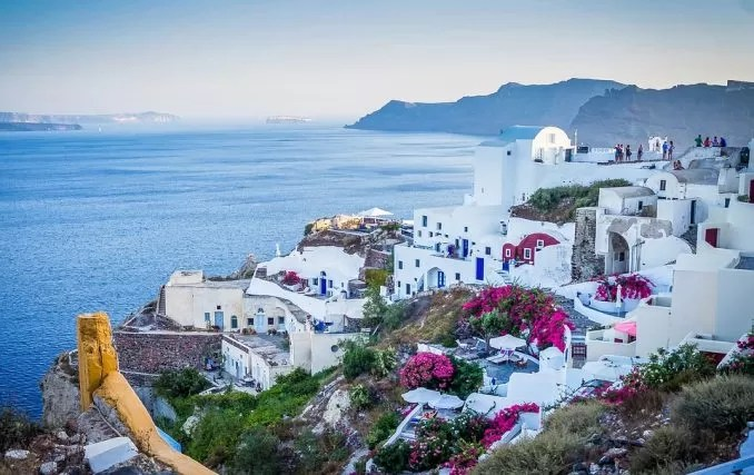 Santorini Village Greece e1564992911781 - 10 Best Places To Visit Once In A Lifetime