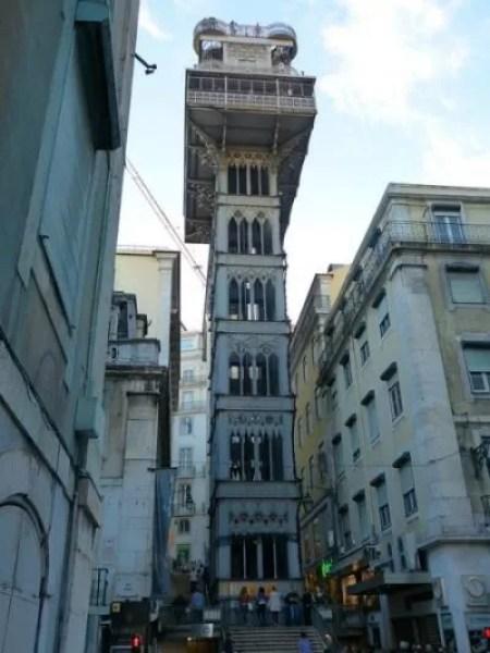 Elevador De Santa Justa e1567852042472 - Places to Visit in Lisbon, Portugal