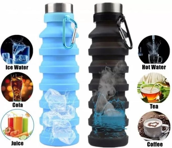 collapsible water bottle - Eco Tourist | Eco-Friendly Travel Tips For You Next Trip