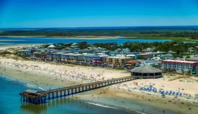 Tybee Island Georgia America e1576789957867 - 19 Best Vacation Destinations With Family Around The World