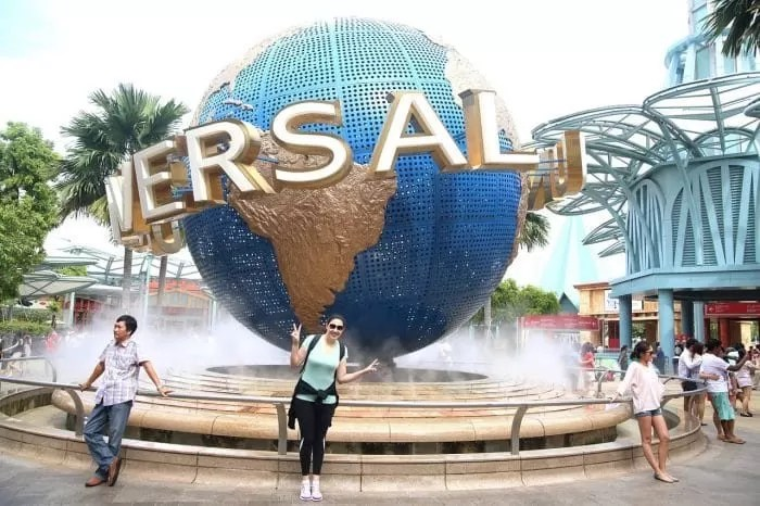 Universal Studios Singapore - places to visit in Singapore and Bali