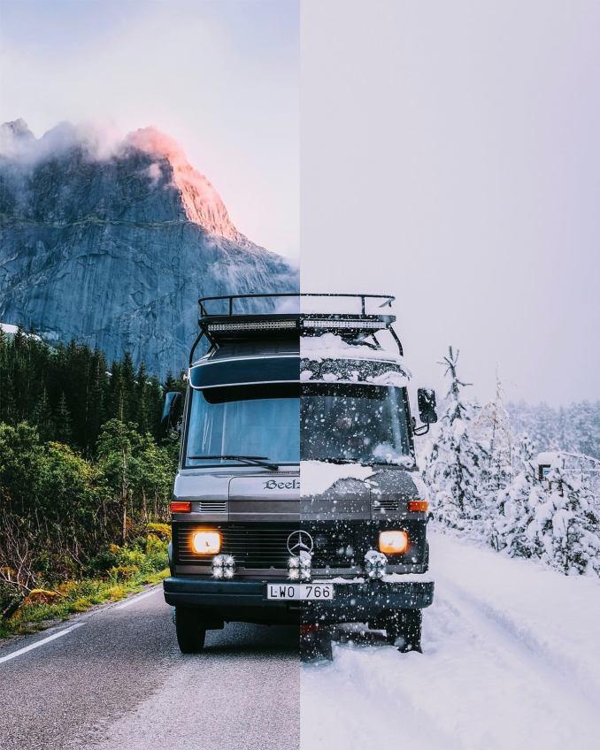 Summer or Winter Vanlife?