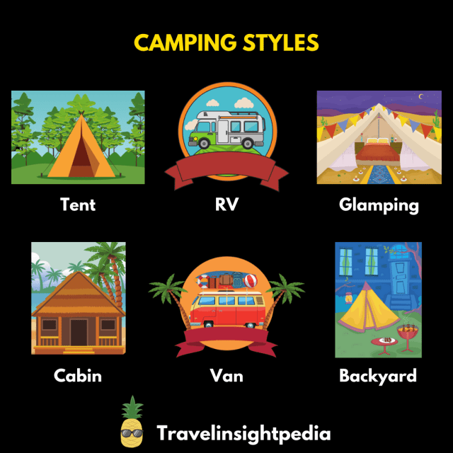 Camping styles