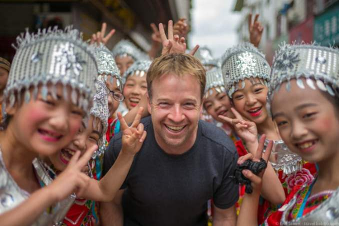 Eric Stoen at Guizhou