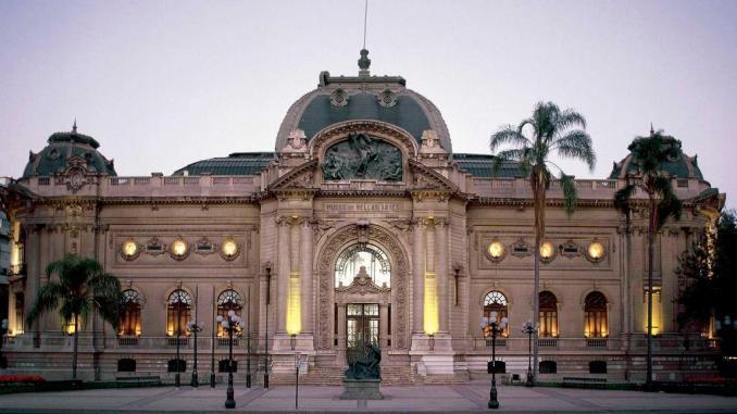 Museo Nacional de Bellas Artes (Museum of Fine Arts), Santiago