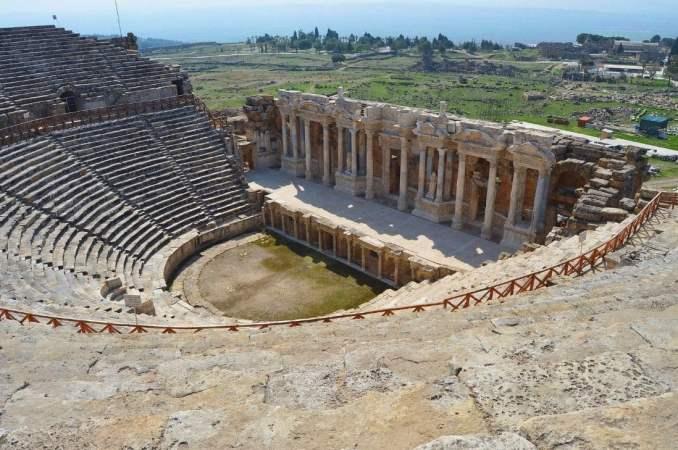 Pamukkale Ancient Theatre