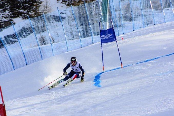 skiing in Via Lattea