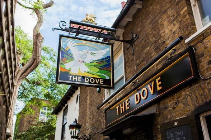 the dove london