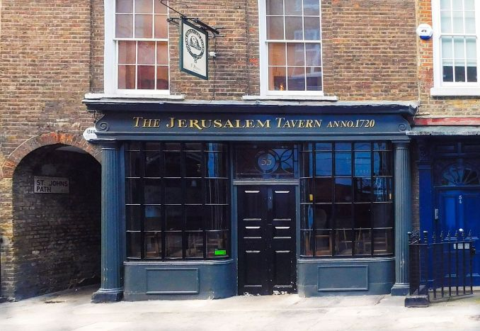 the jerusalem tavern london