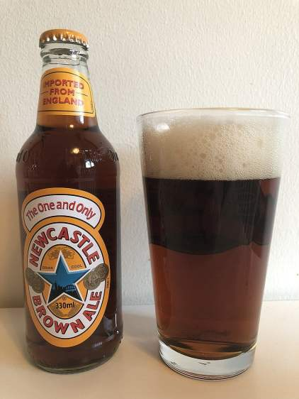 Newcastle Brown Ale as one of the best beers in Europe