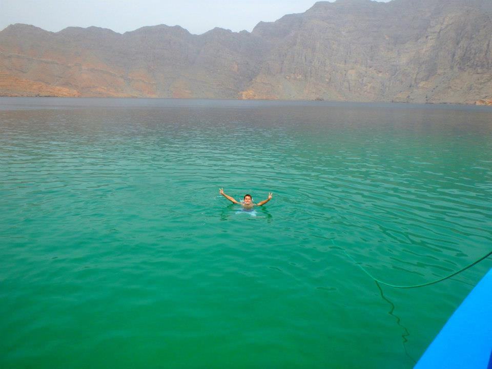 Swimming with the Dolphins in Oman