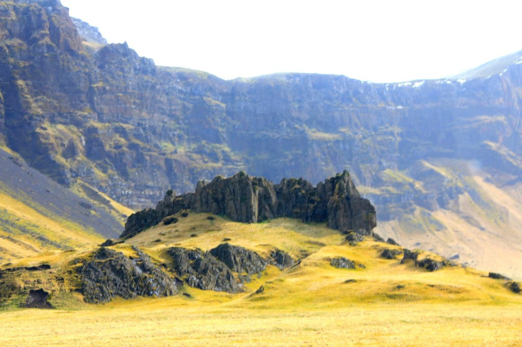 Unique Icelandic Landscape