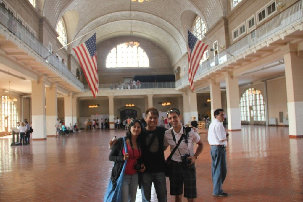 With Hadas (Israeli) and Martin (German) in New York City, USA