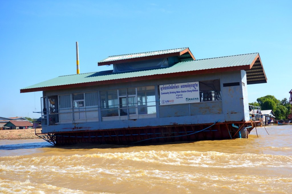 Floating Community Drinking Water Station