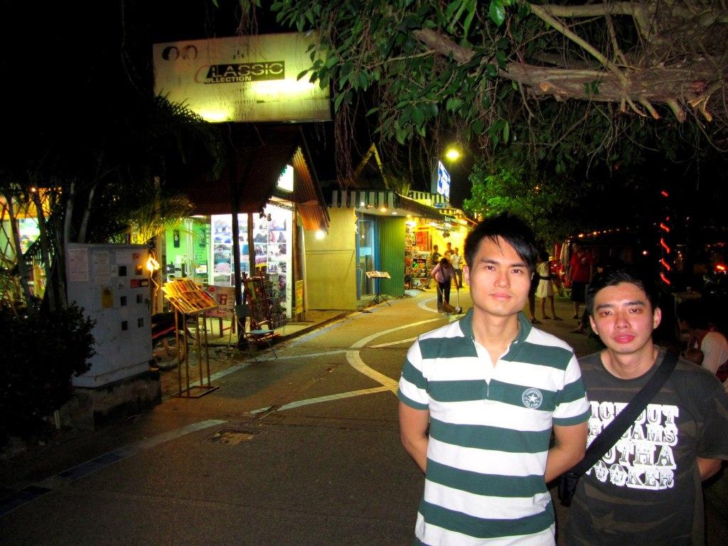 Ao Nang Beach Front Street