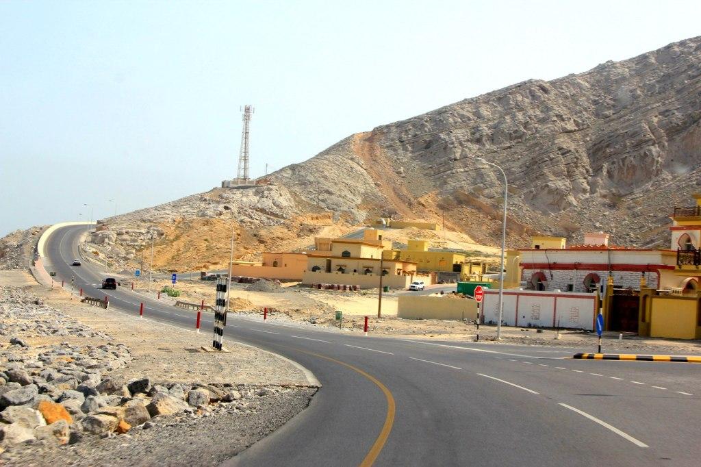 A long coast drive from Omani-UAE border