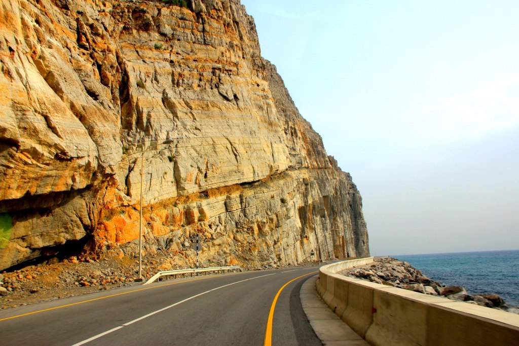 Coastal Drive to Khasab Port