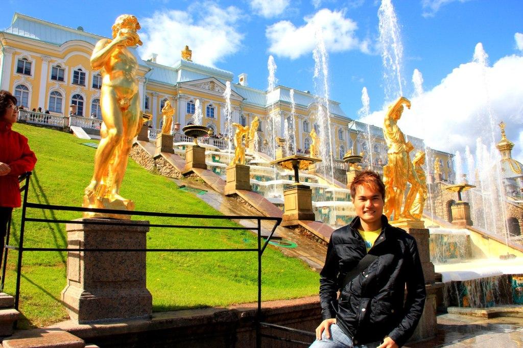 Fountain of Petershof Garden