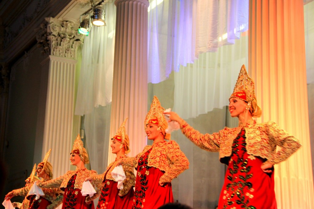 Traditional Russian Forklore Dance