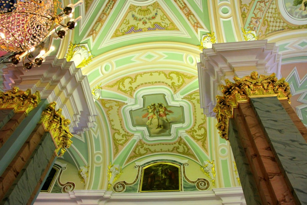 Interior of Peter and Paul Cathedral