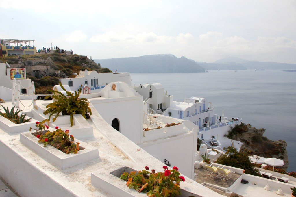 Beautiful houses of Santorini
