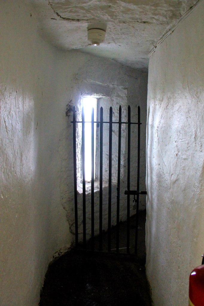 Scary corridor at the Bunratty Castle
