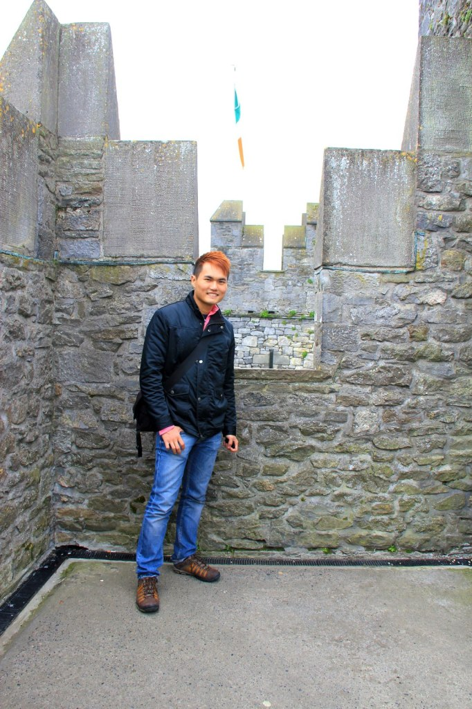 On top of Bunratty Castle