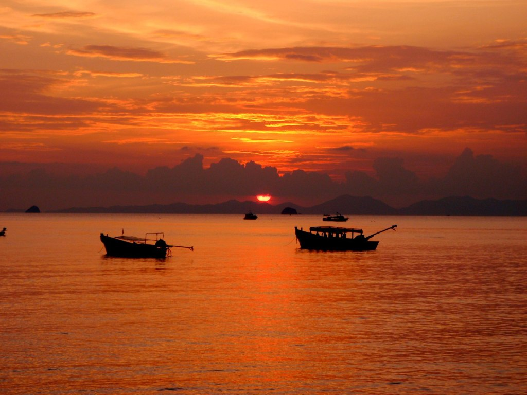 Gorgeous Sunset in Krabi
