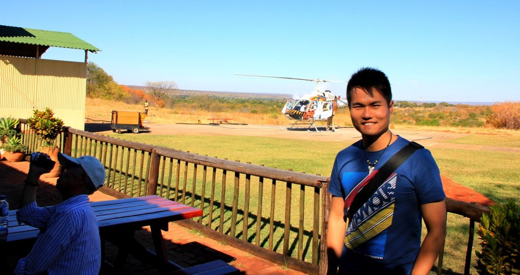 Me and my helicopter