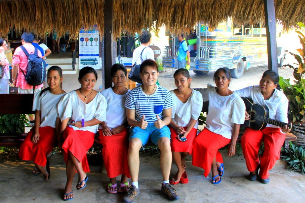 Warmth welcome by the locals at Palawan