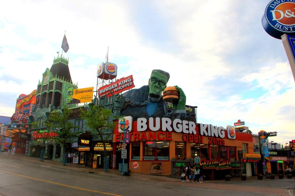 Frankenstein in Burger King