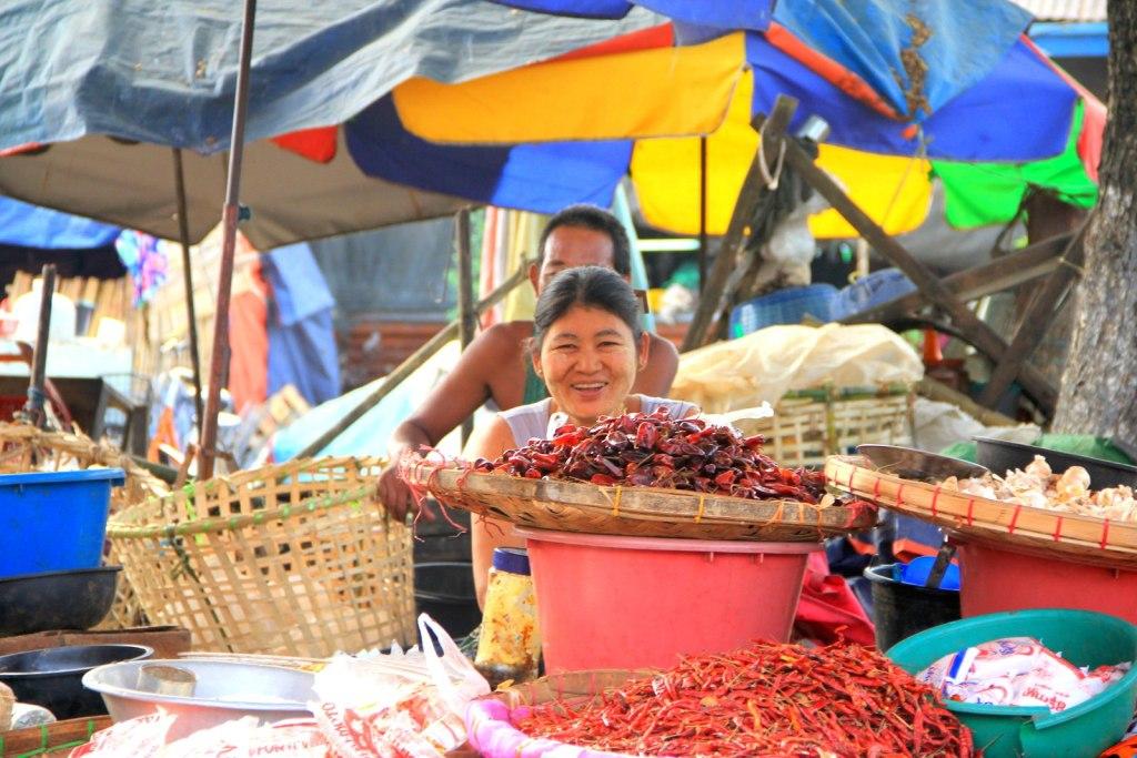 The friendly Burmese