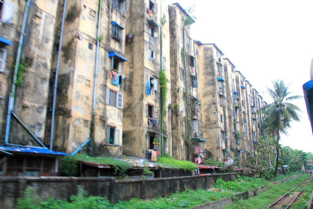Rustic building in Myanmar