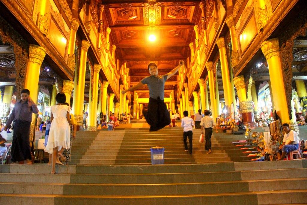 KJS @ Shwedagon Pagoda