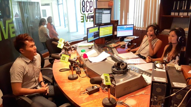 Here we go! 983Live Interview