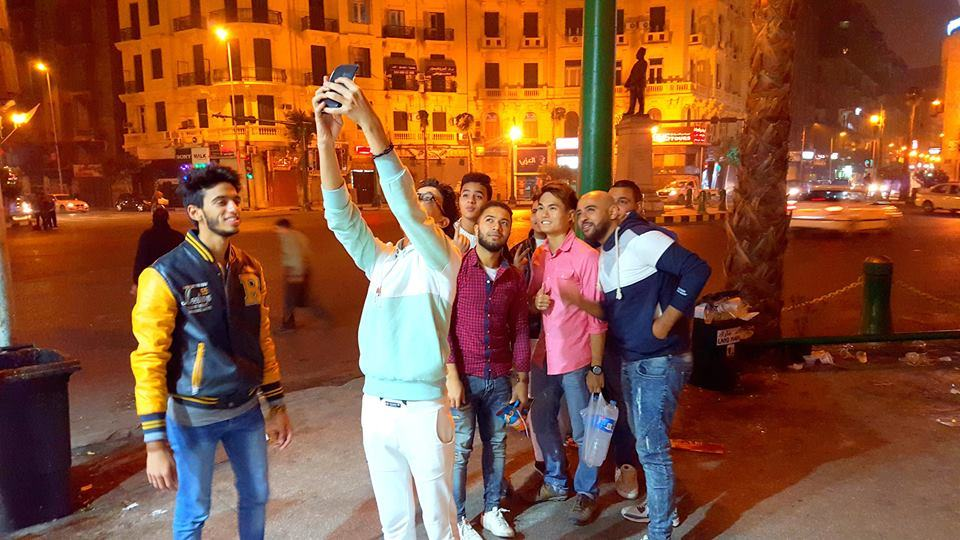 Being approached by a gang in Cairo city for a photo!