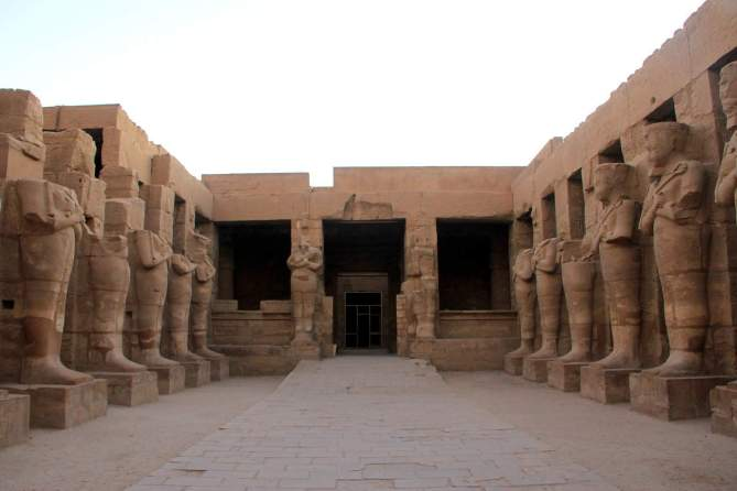 The Karnak Temple in Egypt!