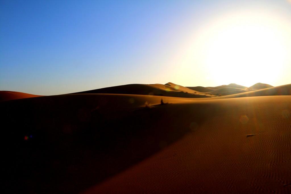 The perilous journey in the Sahara Desert!
