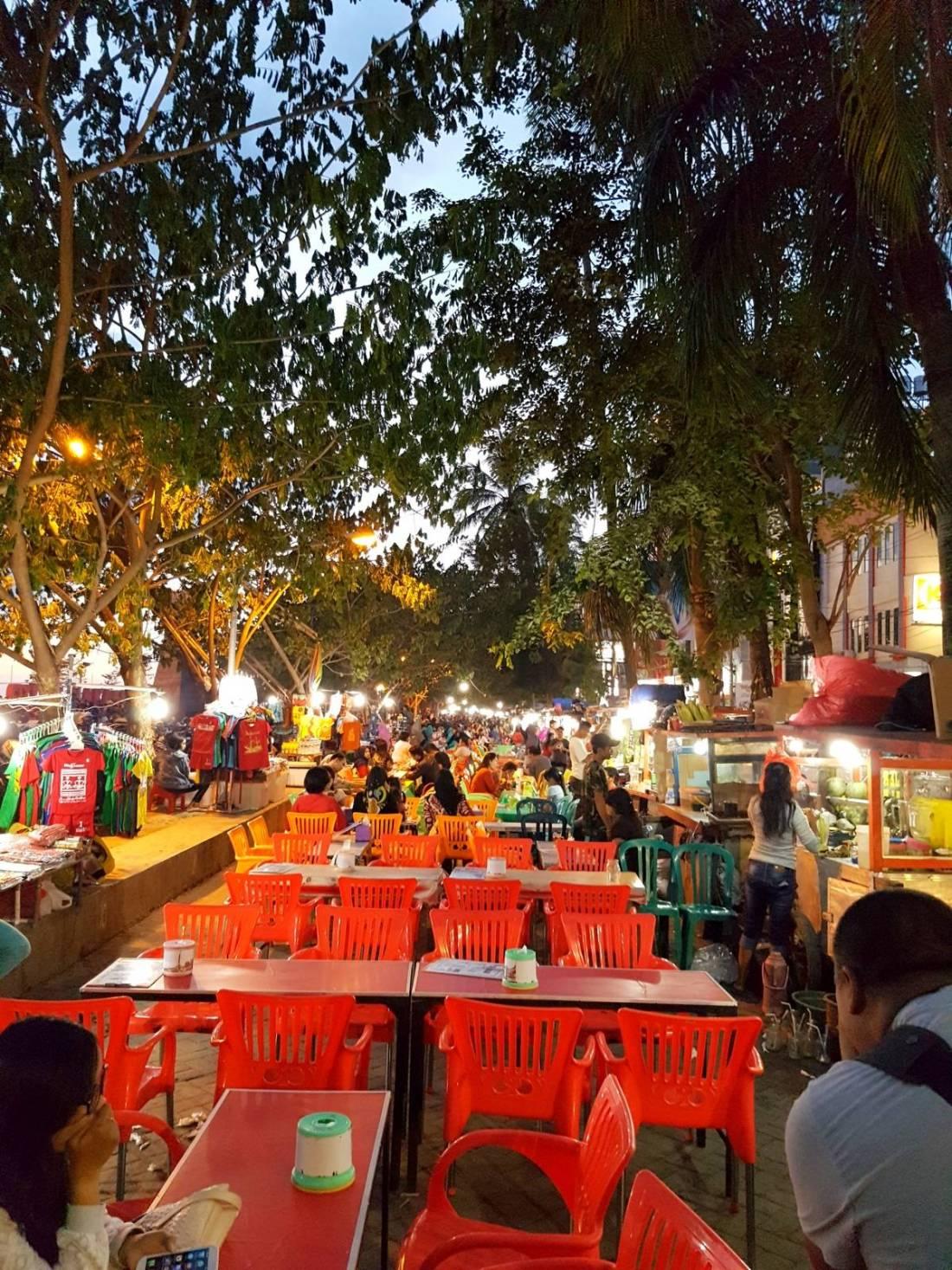 Makassar City Street Stall
