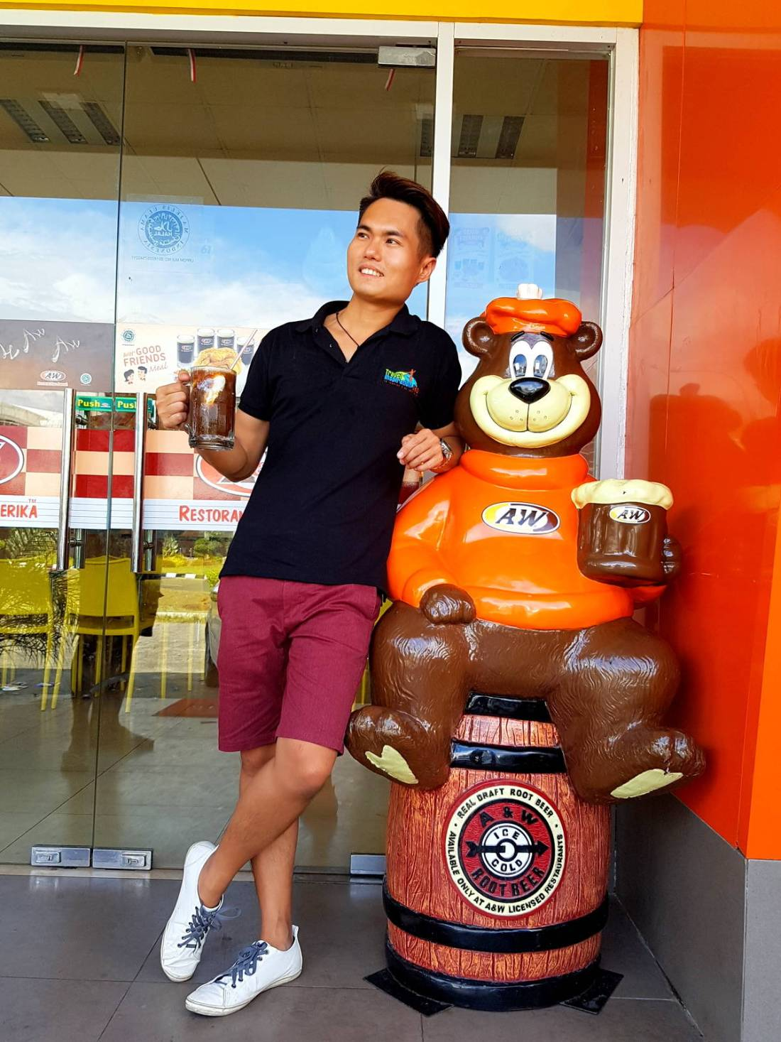 A&W Root Bear
