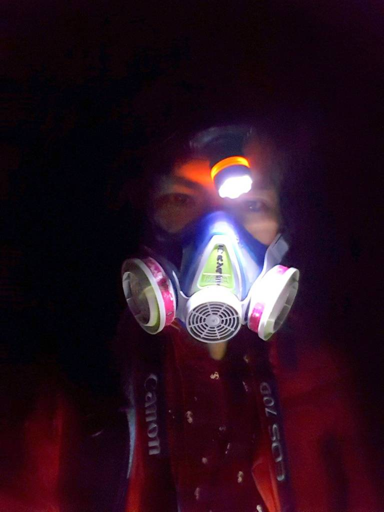 Volcano Gas Mask
